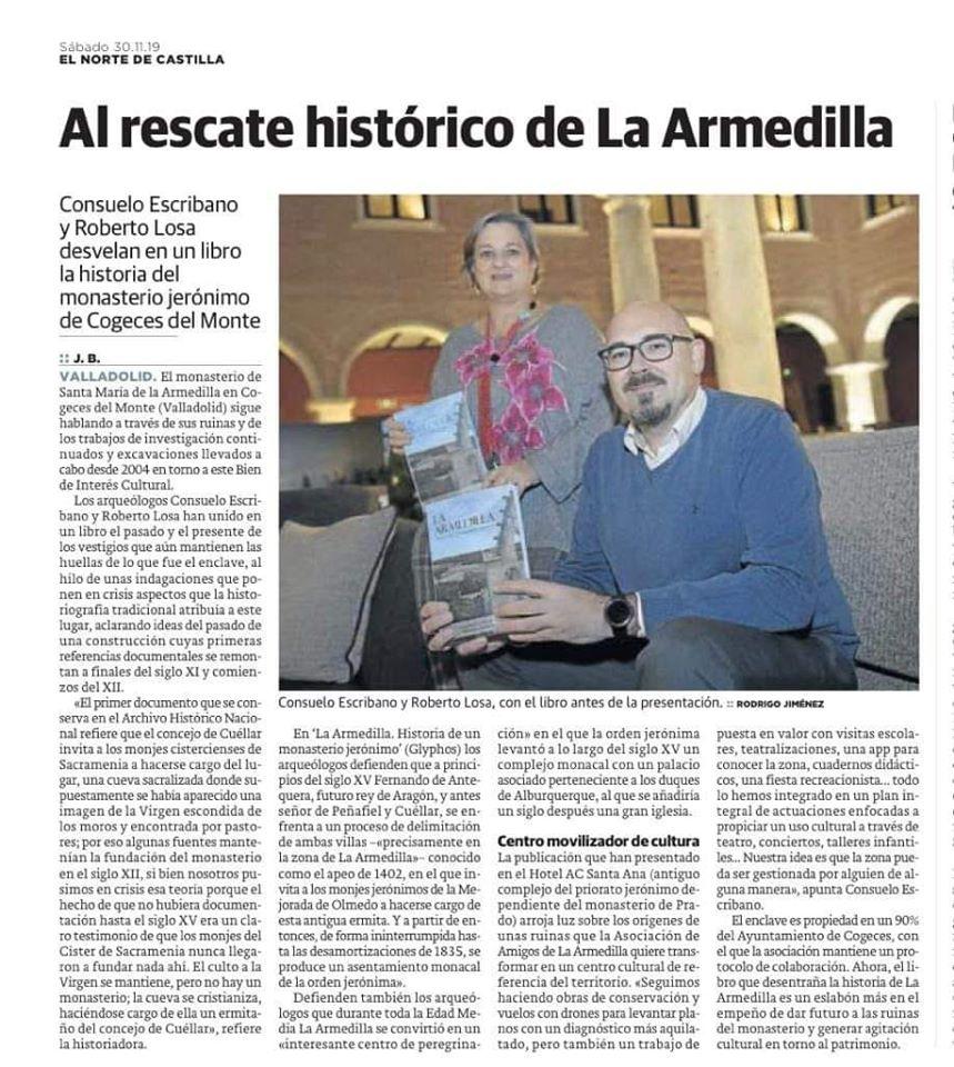 La Armedilla. Historia de un monasterio jerónimo