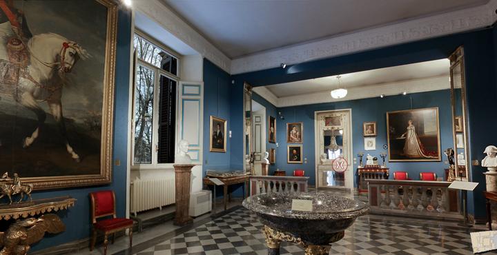 Vista del museo napoleónico.